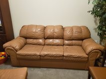 Leather Furniture--Couch, Love Seat, Chair (not shown in picture) and Ottoman in The Woodlands, Texas