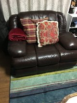 2 Leather Recliners from Yellowbox in Okinawa, Japan
