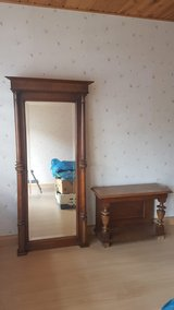 Antique mirror in Ramstein, Germany