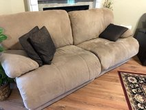 """Oversized recliner couch 87"""" in Macon, Georgia"""