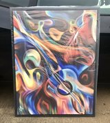Abstract Guitar/ Jazz Painting on Canvas in Clarksville, Tennessee