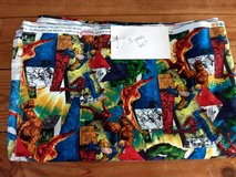 5 yds of 100 % cotton MARVEL fabric in Chicago, Illinois