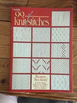 Instructional book of 99 different knitting stitches in Chicago, Illinois