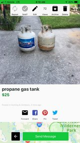 propane gas tank in Houston, Texas