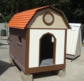 Several dog houses for sale in The Woodlands, Texas