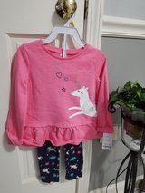Carter's 2 piece unicorn set new in Bolingbrook, Illinois