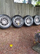 22in rims with Grappler Tires in Tacoma, Washington