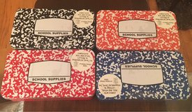 School Supplies Tins in Bolingbrook, Illinois