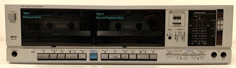 Vintage MCS Double Cassette Deck ~Modular Component Systems in Bolingbrook, Illinois