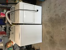 Whirlpool washer and Electric dryer in Kingwood, Texas