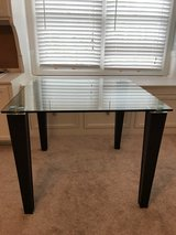 Square Glass Dining Table in Naperville, Illinois