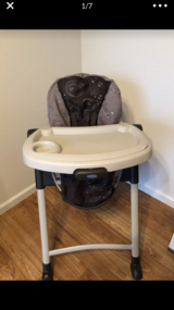 Graco high chair in Fort Lewis, Washington