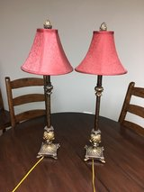 Set of 2 table lamps in Chicago, Illinois