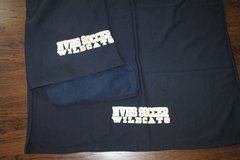 Neuqua Valley Soccer Stadium Blanket, Sweatshirt Fabric  - 2 Available in Westmont, Illinois