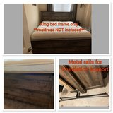 king bed frame in The Woodlands, Texas
