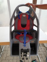 bicycle kids seat in Ramstein, Germany