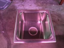 "Stainless steel sink 20""x20"", 8"" deep in Camp Lejeune, North Carolina"