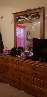 Headboard/Dresser with Mirror in Hopkinsville, Kentucky