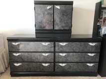 move out sale. Dresser & night stand in Bolingbrook, Illinois