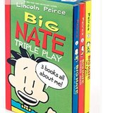 New in Package!  Big Nate Triple Play - 3 Books! in Westmont, Illinois