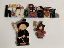 3 Piece Halloween Sign & Witches in Naperville, Illinois