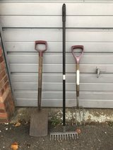Gardening tools in Lakenheath, UK