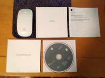 Apple Magic Bluetooth Wireless Laser Mouse, Like New, iMac Recory iOS and Apps DVDs, Manuals for... in Beaufort, South Carolina