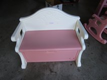 GIRLS PINK BENCH in Naperville, Illinois