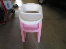 GIRLS PINK DOLL HIGH CHAIR in Naperville, Illinois