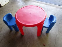 LITTLE TIKES TABLE AND CHAIRS in Naperville, Illinois