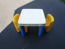 LITTLE TIKES TABLE WITH 2 CHAIRS in Naperville, Illinois
