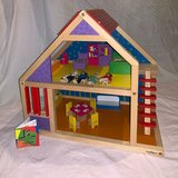 "Ryan's Room ""It's 2 Cute"" Preschool Wooden Dollhouse in Bolingbrook, Illinois"
