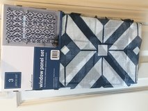 Curtains Cafe Tiers Panels Valance NEW in Bartlett, Illinois