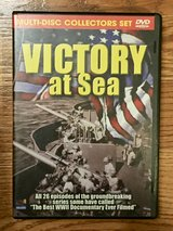 Victory at Sea Multi-Disc DVD Collectors Set in Bolingbrook, Illinois