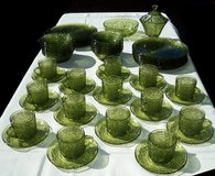 Vintage Glass Party Set in Naperville, Illinois
