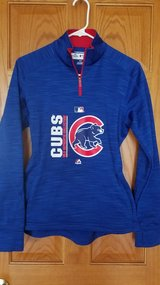 Cubs blue half zip pullover size small in Joliet, Illinois