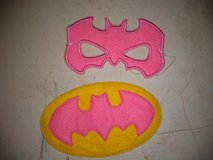 Batgirl mask and patch in Clarksville, Tennessee