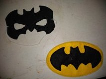 Batman mask & patch in Clarksville, Tennessee