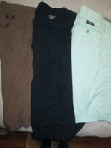 Young men's shorts- Calvin Klein, Galvin Green, Guess and Armani Exchange in Bolingbrook, Illinois