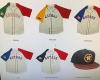 "Houston Astros ""Hispanic Heritage Jerseys"" - Brand New In Wrapper! in Baytown, Texas"