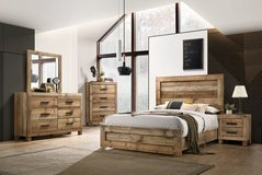 United Furniture - Gobi Bedroom Set complete with Silver (Basic) Mattress+ Box Frame and Delivery in Wiesbaden, GE