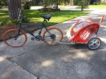 Bicycle 2 seater trailer - like new in Kingwood, Texas