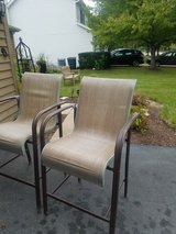 4 tall patio chairs in Bolingbrook, Illinois