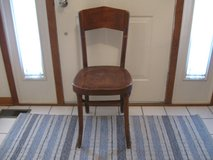 Vintage Wood Chair in Naperville, Illinois