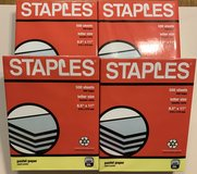 Staples - Multipurpose copy paper Blue NEW sealed in Bolingbrook, Illinois