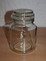 New Large Storage Jar Sealed (Glass) in Wiesbaden, GE