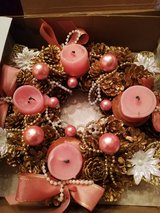 Advent wreath in Ramstein, Germany