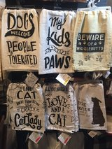 Fun pet-inspired dish towels! in St. Charles, Illinois