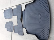 Honda CRV weather mats and cargo mat in Naperville, Illinois