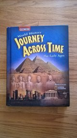 world history journey across time the early ages for social studies 6th grade book in Westmont, Illinois
